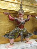Buddhist Statue decoration at the Royal Palace in Bangkok. Beautiful detail Stock Photography