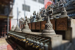 Buddhist statue in Gangaramaya Stock Photography