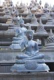 Buddhist statue in Gangaramaya Temple. Sri Lanka Stock Photos