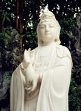 buddhist statue of Guanyin Bodhisattva, Avalokitesvara Bodhisattva, Goddess of Mercy Royalty Free Stock Photo