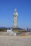 Buddhist statue of Haesugwaneumsang Royalty Free Stock Image