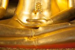 Buddhist statue hand Royalty Free Stock Photography