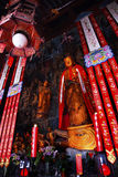 Buddhist Statue Jade Buddha Temple Shanghai China Royalty Free Stock Images