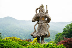 Buddhist statue in Korea. Buddhist statue in Wawoo Temple, Korea Stock Photos