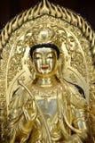Buddhist Statue of Kuan Yin Stock Images