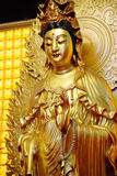 Buddhist Statue of Kuan Yin Royalty Free Stock Image