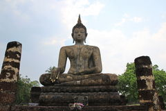 Buddhist statue. Old buddhist statue at old city in Thailand royalty free stock photos