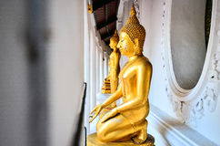 Buddhist Statue. The Buddhist statue at Phra Phatom Chedi Temple, Thailand is highly respected by people Stock Photography
