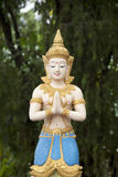 Buddhist statue in Thailand Stock Photography