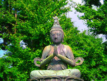 Buddhist Statue in Tokyo Stock Images