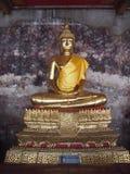 Buddhist statue. At Wat pho Bangkok Stock Photography