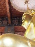 Buddhist statue. At Wat pho Bangkok Royalty Free Stock Photography