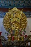Buddhist statue in Zhanshan temple, Qingdao. Stock Photo