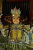 Buddhist statue in Zhanshan temple, Qingdao. Stock Image
