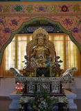 Buddhist statue in Zhanshan temple, Qingdao. Royalty Free Stock Photography