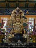 Buddhist statue in Zhanshan temple, Qingdao. Stock Images