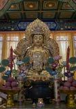 Buddhist statue in Zhanshan temple, Qingdao. Royalty Free Stock Photos