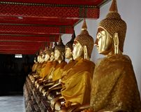 Buddhist statues Royalty Free Stock Images