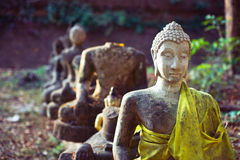 Buddhist statues Royalty Free Stock Photo