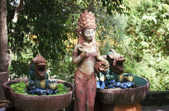 Buddhist statues Royalty Free Stock Photography