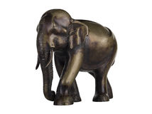 Buddhist Statuette of elephant Stock Photo