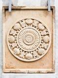 Buddhist Stone Carving Royalty Free Stock Photo