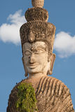 Buddhist Stone Figure Of Asia Royalty Free Stock Photography
