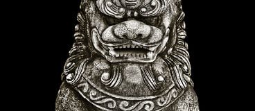 Buddhist stone statue. Stock Photography