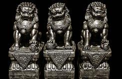 Buddhist stone statue. Stock Photos