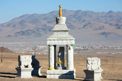 Buddhist stupa Stock Photo