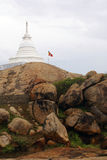 Buddhist stupa. In Kirinda, Sri Lanka Stock Photos