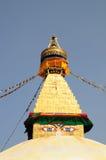 Buddhist stupa of Boudhanath Royalty Free Stock Photos