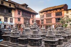 Buddhist stupa - Buddhist place of worship Stock Image