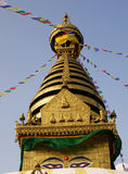 Buddhist stupa. In the capital of Nepal, Kathmandu Stock Images