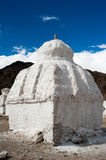 Buddhist stupa ( chorten ) at Himalaya Stock Photo