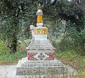 Buddhist Stupa or Chorten in Sikkim Royalty Free Stock Images