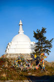 Buddhist stupa chorten Royalty Free Stock Image