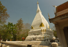The Buddhist stupa in Dan Sai district, Loei province, Thailand Stock Image