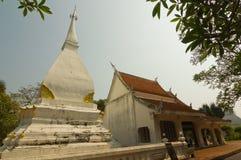 The Buddhist stupa in Dan Sai district, Loei province, Thailand Royalty Free Stock Photography