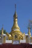 Buddhist Stupa near Mt Popa - Myanmar (Burma) Royalty Free Stock Photos