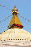 Buddhist stupa (Kathmandu) Royalty Free Stock Photography