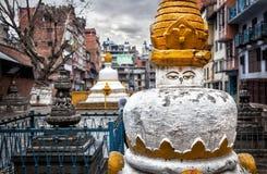Buddhist stupa in Kathmandu Royalty Free Stock Photo