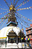 Buddhist Stupa, Kathmandu, Nepal Stock Photography
