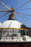 Buddhist Stupa, Kathmandu, Nepal Stock Images