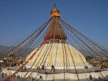 Buddhist Stupa, Kathmandu, Nepal Royalty Free Stock Photos