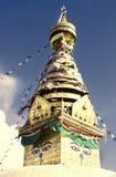 Swayambhunath Monkey Temple in Kathmandu. Buddhist stupa in Kathmandu valley, Nepal. Swayambhunath Monkey Temple stock images