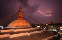 Buddhist stupa- Nepal Royalty Free Stock Images