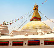 Buddhist stupa (Nepal) Stock Photos