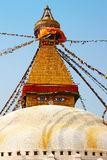Buddhist stupa (Nepal) Royalty Free Stock Photography