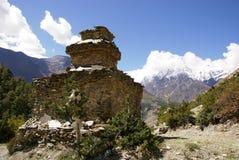 Buddhist stupa, Nepal Stock Image